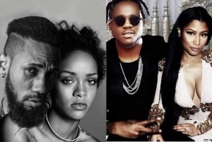 """"""" Haters Will Say Its Photoshop"""" : Rapper Phyno Poses With Rihanna (Photos)"""